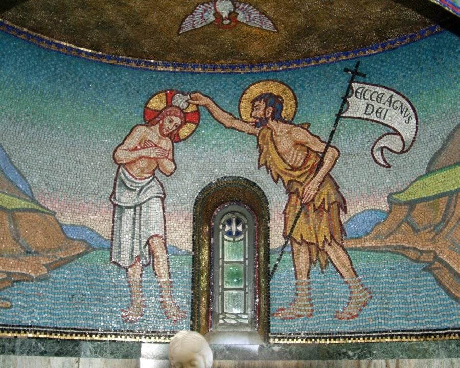 Mosaics – Sacred Heart and Saint Catherine of Alexandria