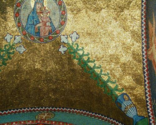 Ceiling bottom right
