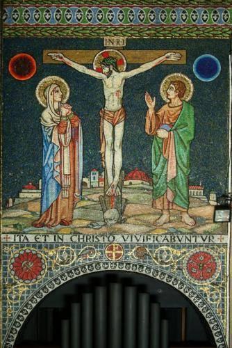 Crucifiction scene