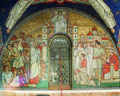 Opposite Altar wall